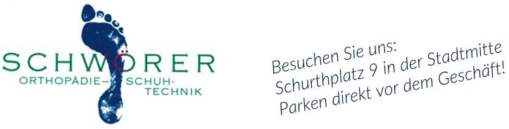 Logo Orthopädie-Schuhtechnik Schwörer Titisee-Neustadt mit Link zur Homeseite
