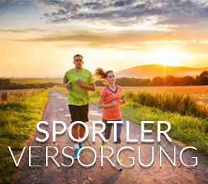 Sportler Versorgung